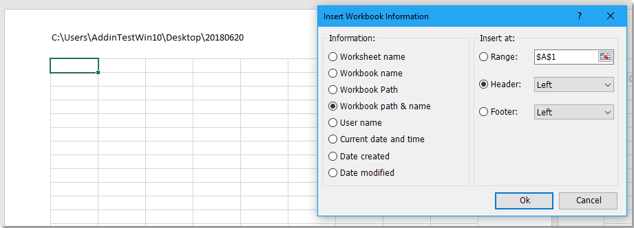How to add background color to headers or footers in Excel sheet ...