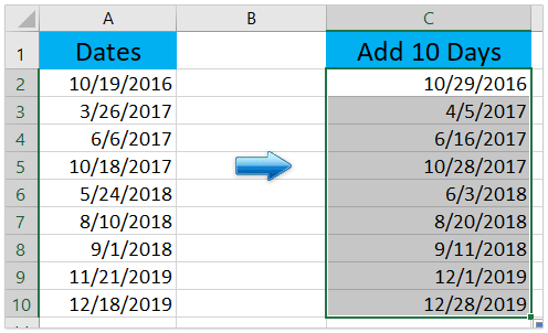 How To Add Or Subtract Days Months And Years To Date In Excel 1 year = 12 months. how to add or subtract days months