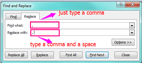 doc-add-spaces-after-commas-1