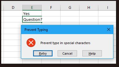 doc kutools prevent typing 5