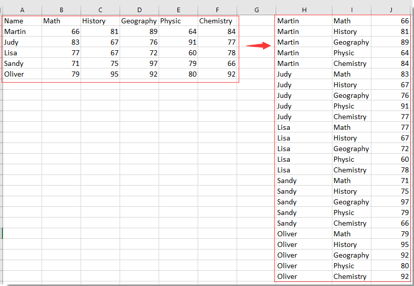 16 siyahısına doc array masa