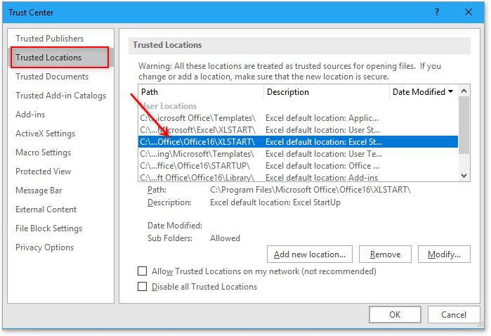doc bestanden openen bij het starten van Excel 2