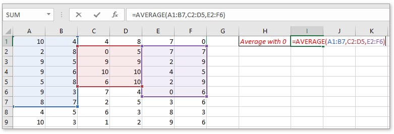 doc average data in noncontiguous ranges 3
