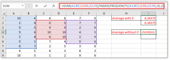 doc average data in noncontiguous ranges 7
