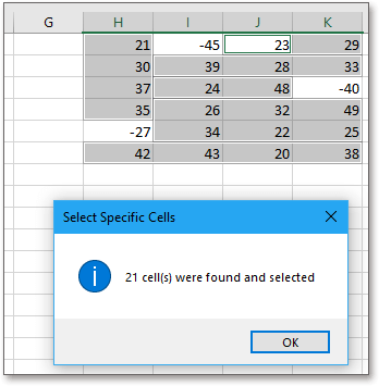 doc kutools select specific cells 3