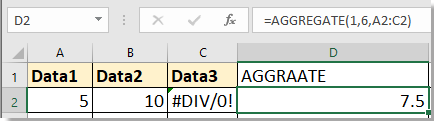 doc average with missing value 2