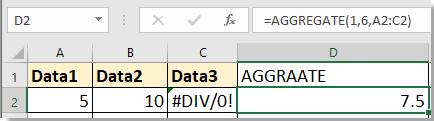 purata doc dengan nilai hilang 2