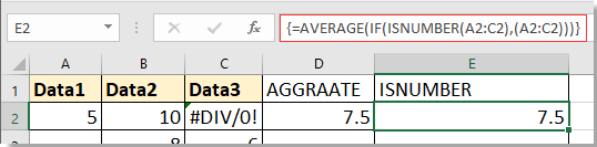 doc average with missing value 3