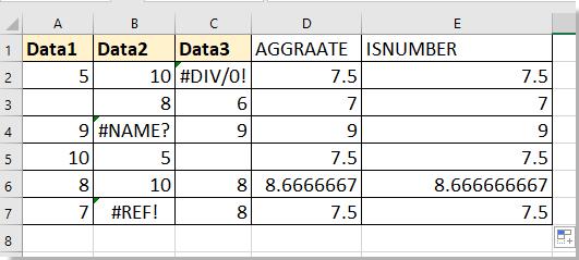 purata doc dengan nilai hilang 4
