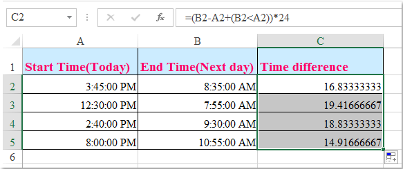 doc calculate time past overnight 3