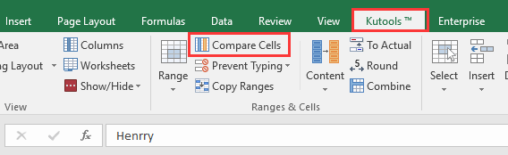 doc change cell if not equal 5
