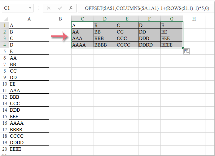 doc-convert-column-to-rows-3