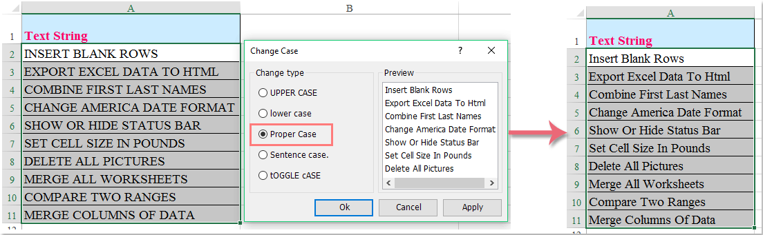 doc change uppercase to propercase 8
