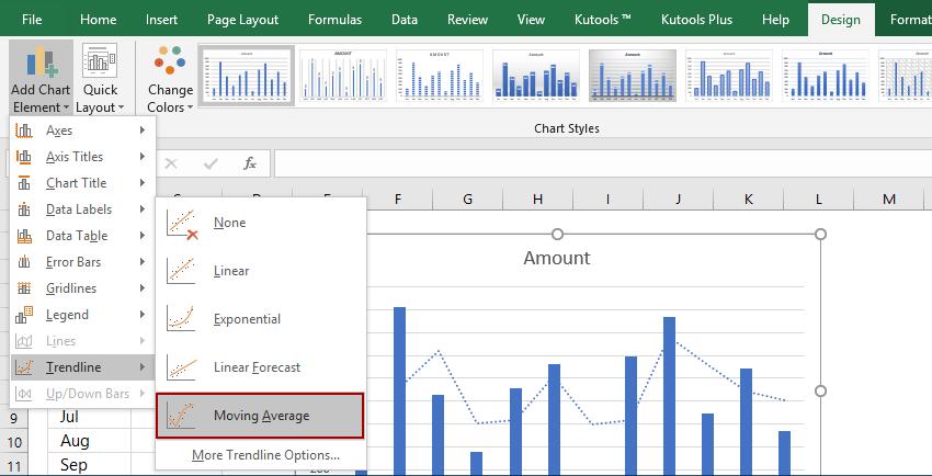 Cum se adaugă linia de regresie în graficul Excel 2016