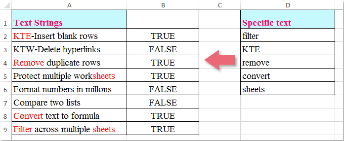 doc check if multiple values 1
