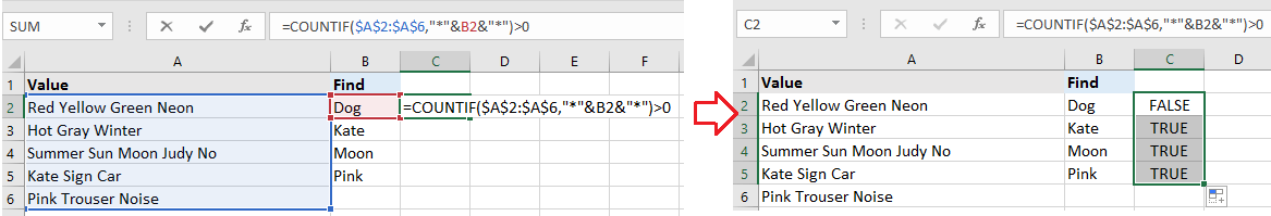 doc check if range contains values 2