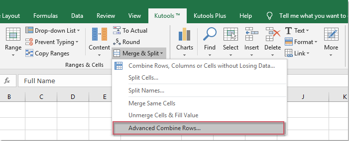 How To Combine Duplicate Rows And Sum The Values In Excel