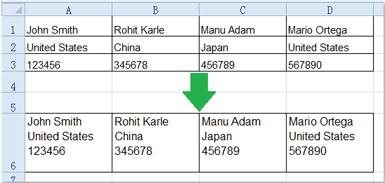 How to combine cells with line break / carriage return in Excel?