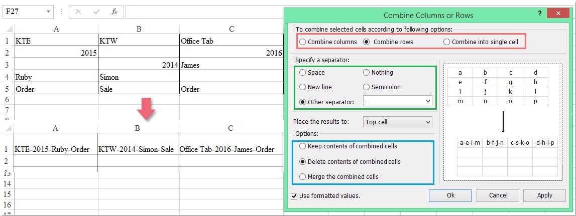 menggabungkan dokumen skip kosong 7