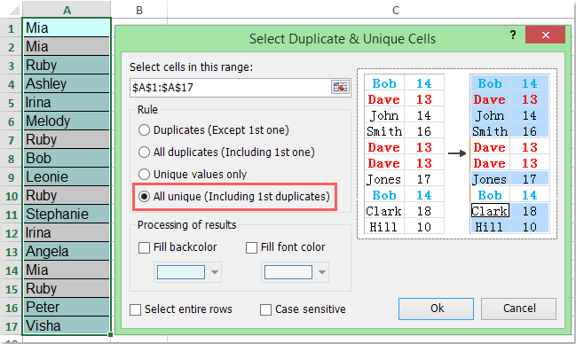 doc concatenate uniques 3