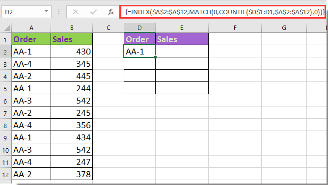 doc condense rows based on same 5