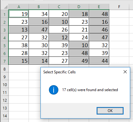 doc conditional formatting not in two values 6