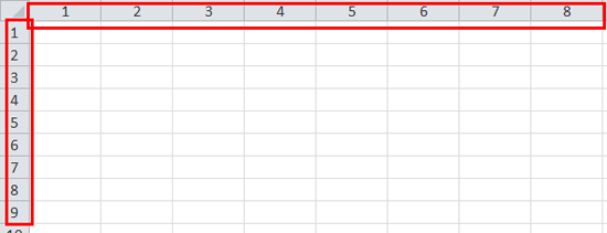 How to quickly convert column number to letter?