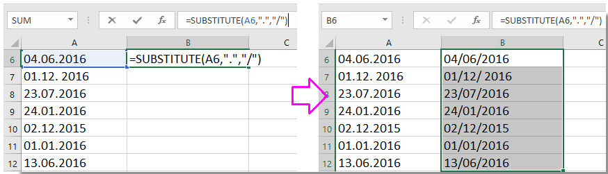 doc convertir formato de fecha 1