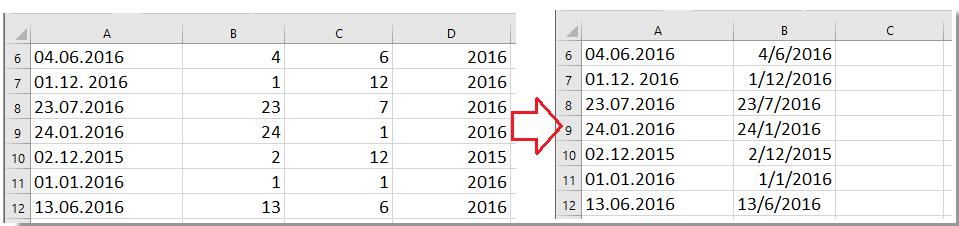 doc convertir formato de fecha 8