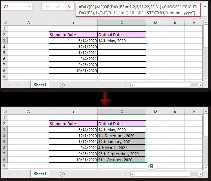 data doc para ordinal 5