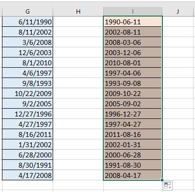 fecha de conversión de documento a aaaammdd 6