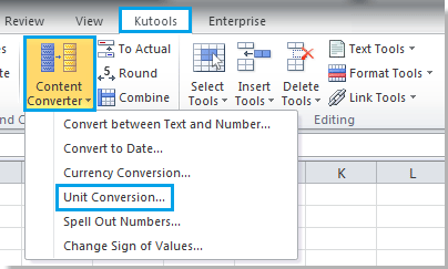 Specify The Distance Unit In The Drop Down Box Of Unit And Then Select Source Unit In The Left Box The Unit You Want To Convert To In The Right Box
