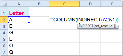 Convert Number To Letter.How To Convert Letter To Number Or Vice Versa In Excel