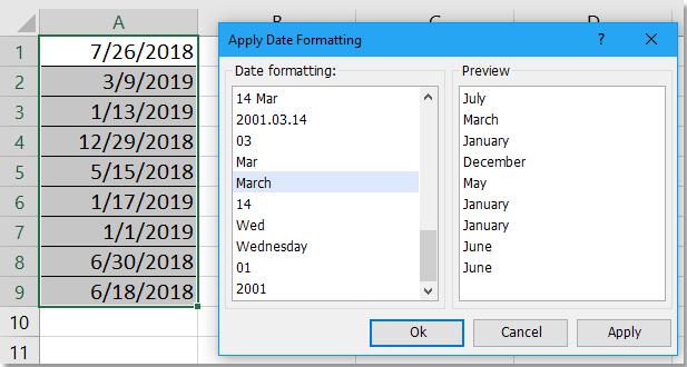 doc pas datum formatering 2 toe