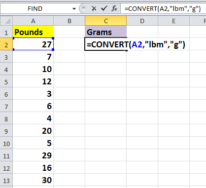 doc pounds to ounces 3