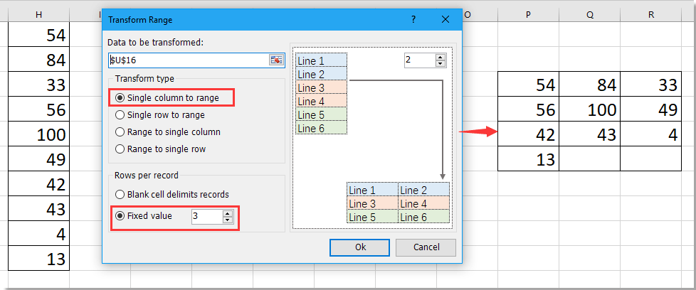 doc convert range to column 16