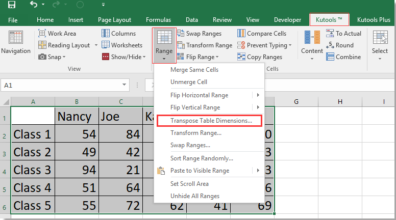 doc convert range to column 17