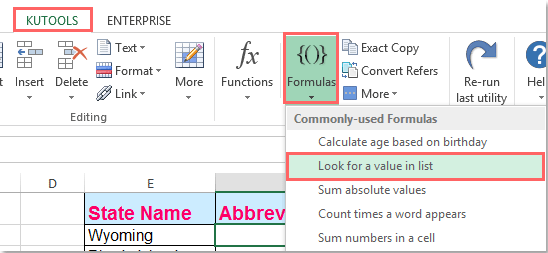 doc convert state to abbre 7
