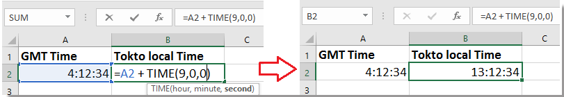 doc convert gmt to local time 2