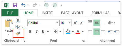 How to copy conditional formatting rules to another