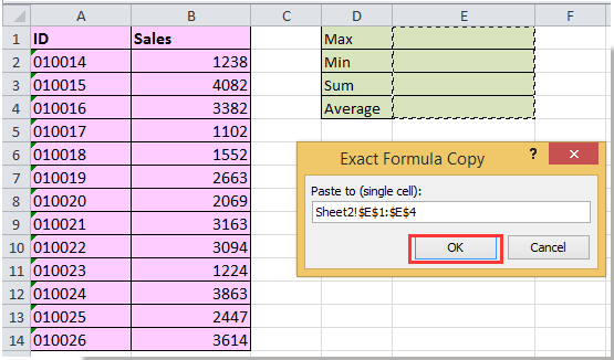 doc copy formula only 11