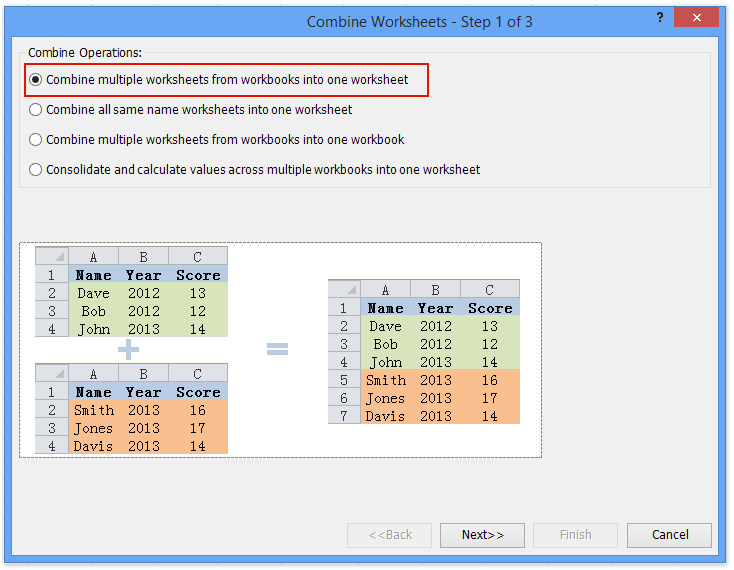 doc copy into from multiple sheets 10