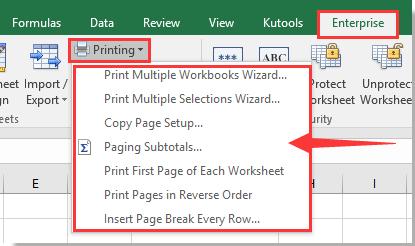 herramienta de impresión doc