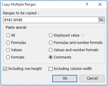 doc copy row height 5