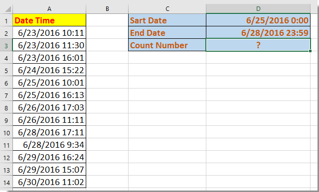 doc count occurrence between datetime 1