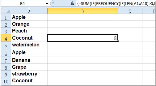 DOC计数器唯一values1