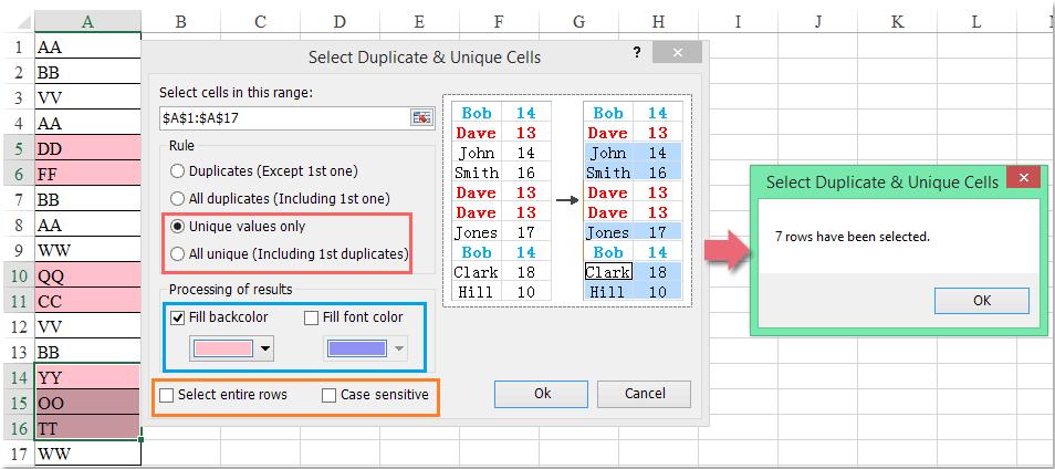 doc select unique-1-1