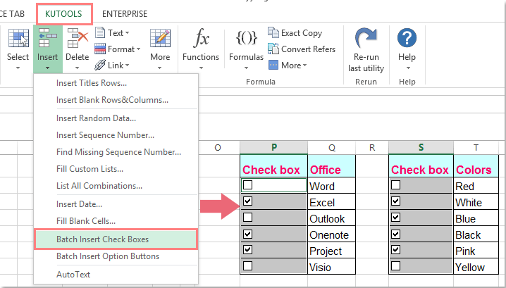 How To Link Checkboxes To Multiple Cells In Excel