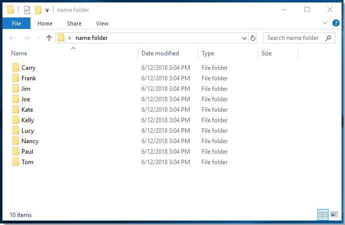 doc create folder 4