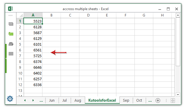 doc create list multiple sheets 2